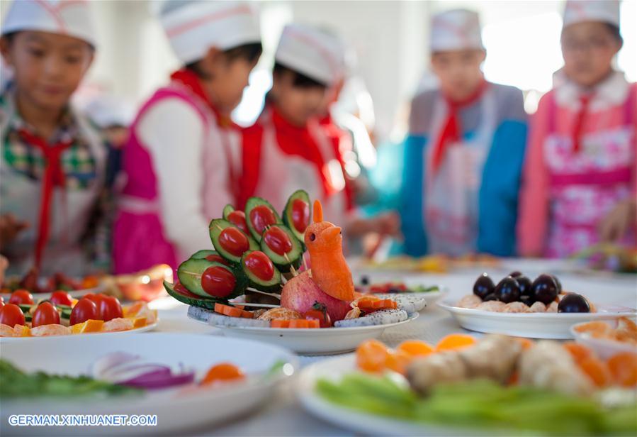 Fruchtplatten zur Begrüßung des Neuen Jahres - Xinhua | german ...