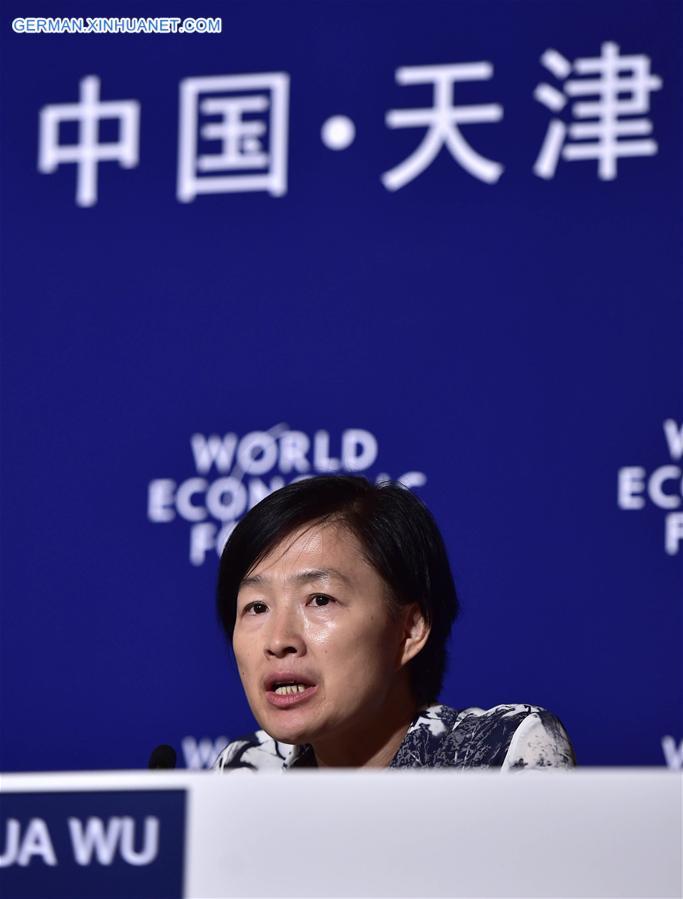 CHINA-TIANJIN-SUMMER DAVOS-POLLUTION (CN)
