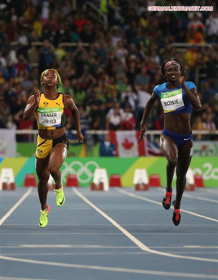 Jamaikas Elaine Thompson gewann Goldmeda