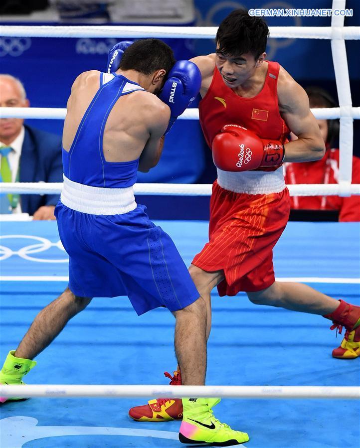 Hu Jianguan gewinnt Vorrunde des Boxens im