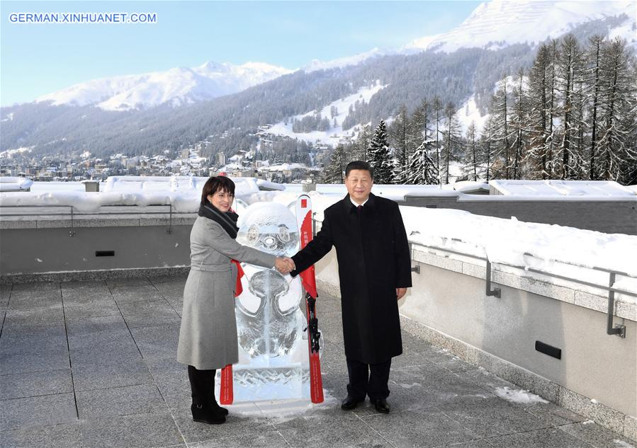 SWITZERLAND-CHINA-XI JINPING-DORIS LEUTHARD-YEAR OF TOURISM