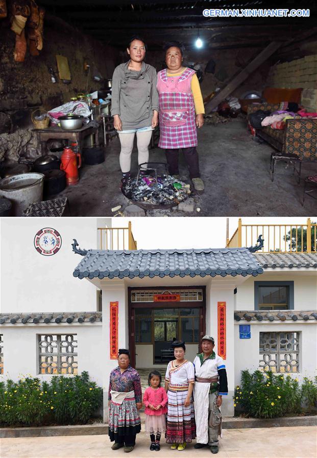 CHINA-YUNNAN-MIAO ETHNIC GROUP-NEW HOME (CN)