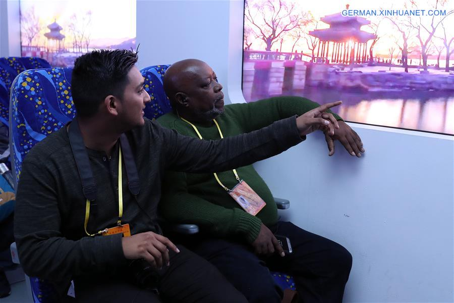 (CPC)CHINA-BEIJING-FOREIGN JOURNALISTS-EXHIBITION (CN)