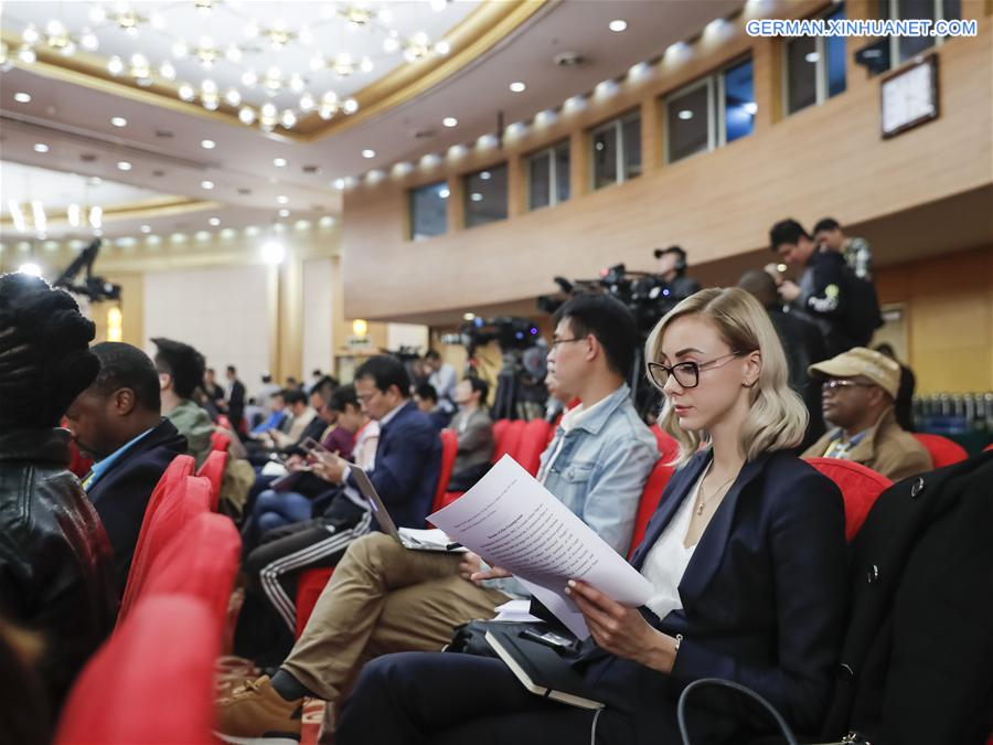 (CPC)CHINA-BEIJING-CPC NATIONAL CONGRESS-FOREIGN JOURNALISTS (CN)