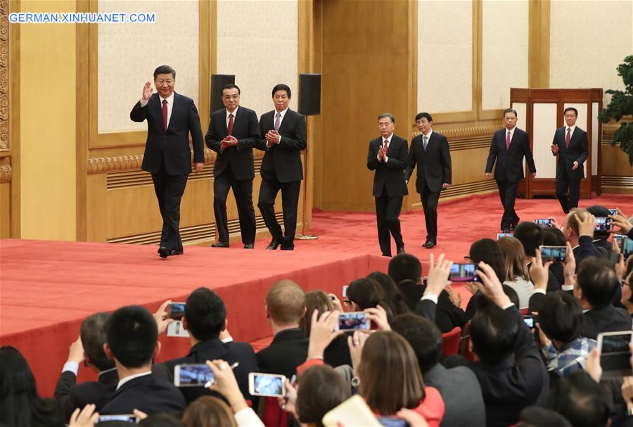 (CPC)CHINA-BEIJING-NEW CPC LEADERS-PRESS (CN)
