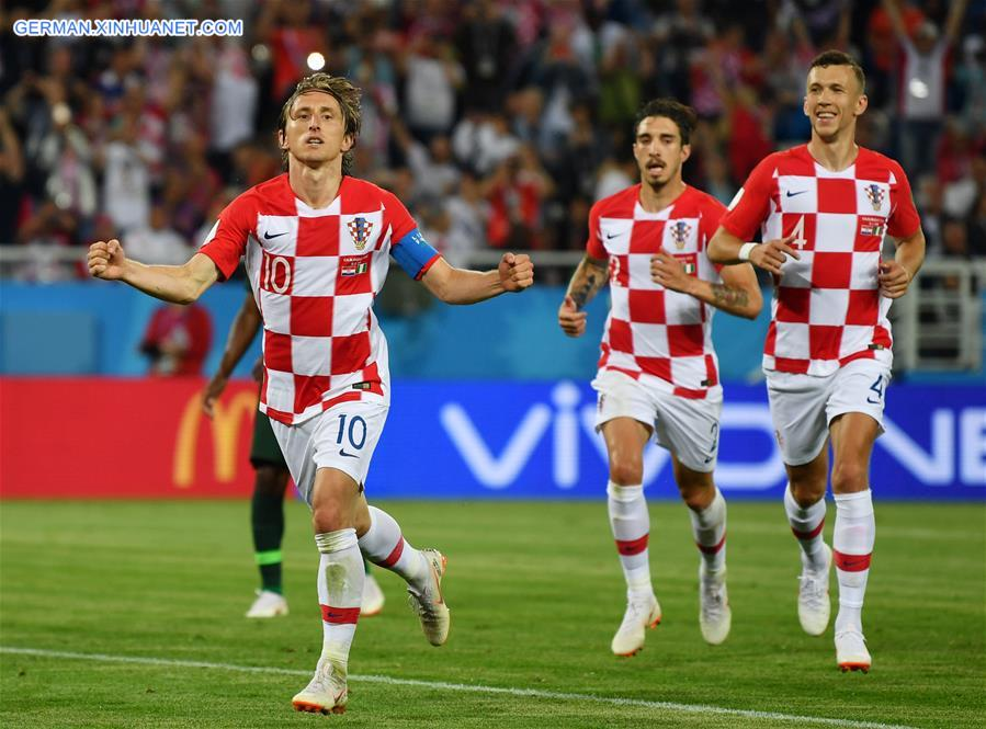 Kroatien Vs Nigeria