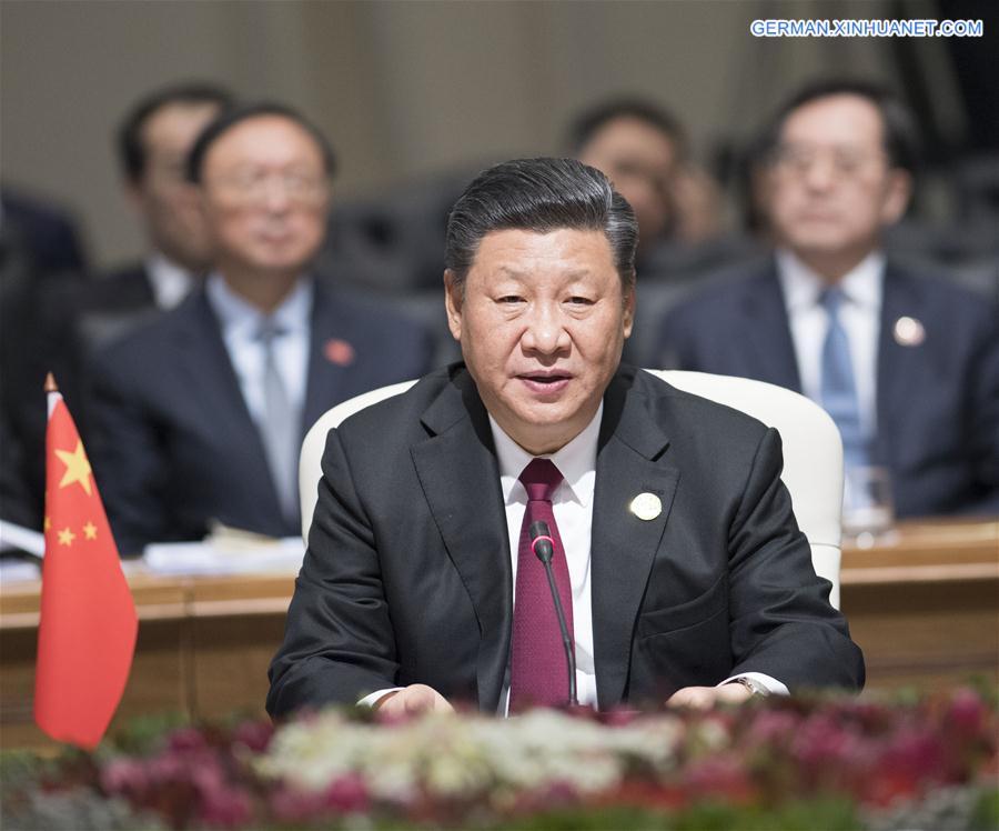 SOUTH AFRICA-JOHANNESBURG-CHINA-XI JINPING-BRICS-SUMMIT
