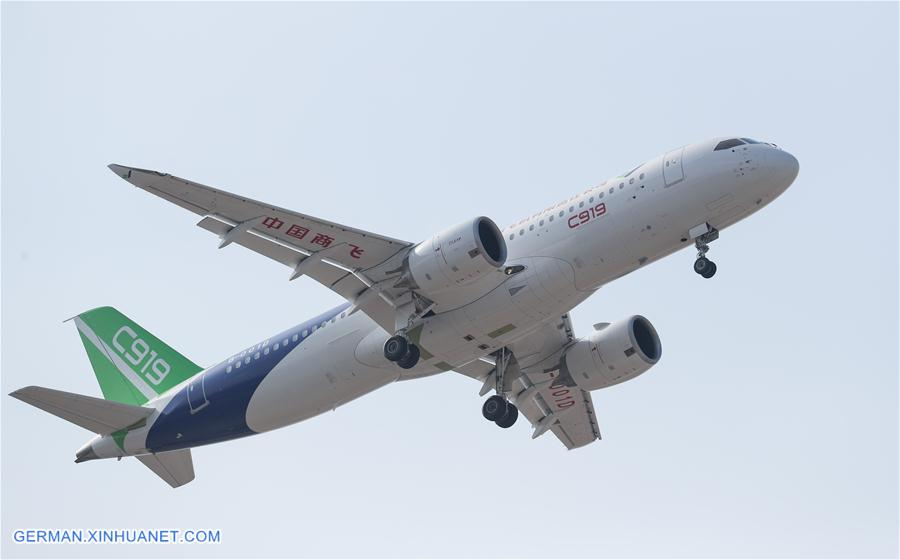 CHINA-SHANGHAI-THIRD C919-MAIDEN TEST FLIGHT (CN)