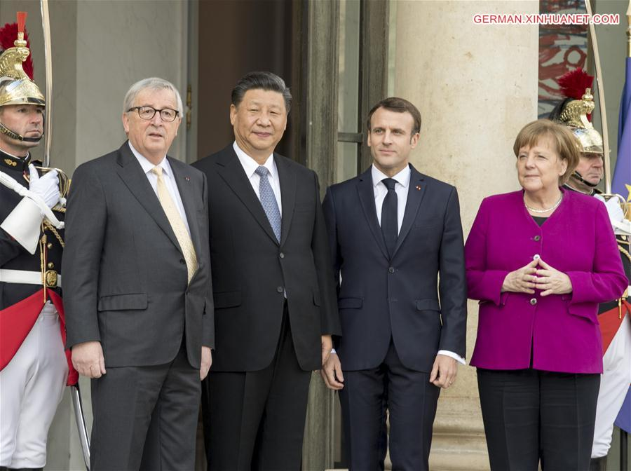 FRANCE-PARIS-CHINA-XI JINPING-FORUM-MEETING