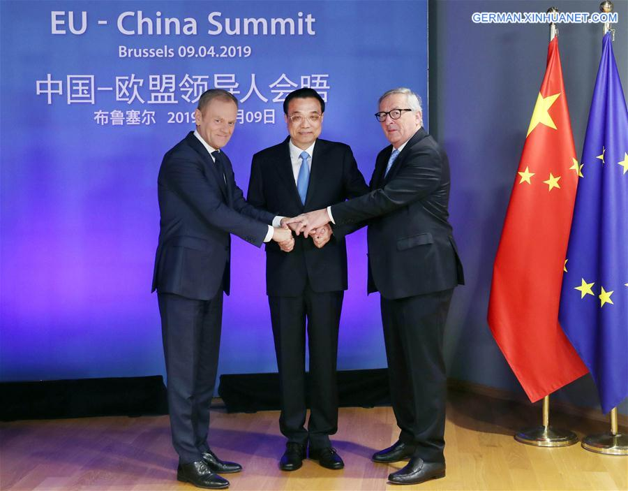 BELGIUM-BRUSSELS-LI KEQIANG-CHINA-EU LEADERS' MEETING