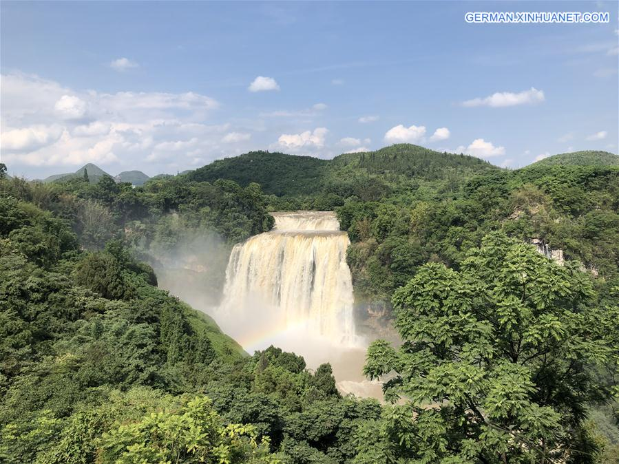 CHINA-GUIZHOU-HUANGGUOSHU WATERFALL (CN)