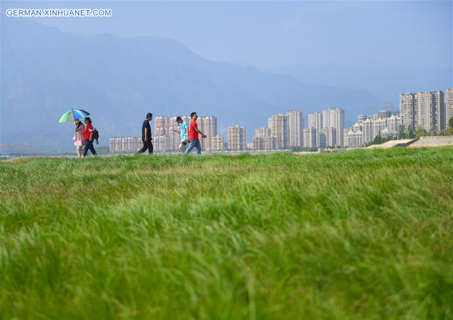 CHINA-JIANGXI-POYANG LAKE-DRY SEASON (CN)