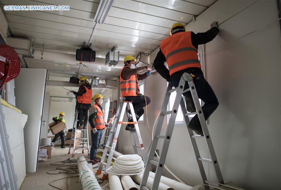 China Baut Krankenhaus