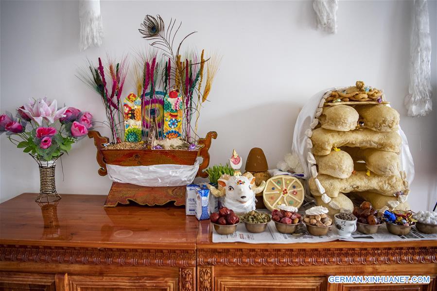 CHINA-TIBET-LHASA-COVID-19-WELFARE INSTITUTE-TIBETAN NEW YEAR (CN)