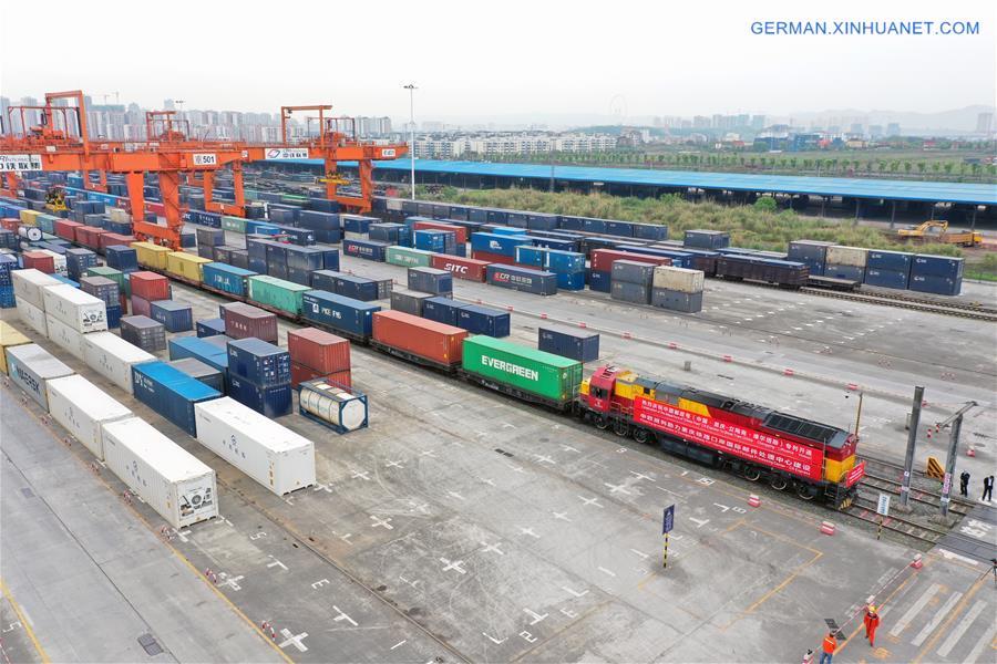 CHINA-CHONGQING-EUROPE-NEW POSTAL RAIL SERVICE (CN)