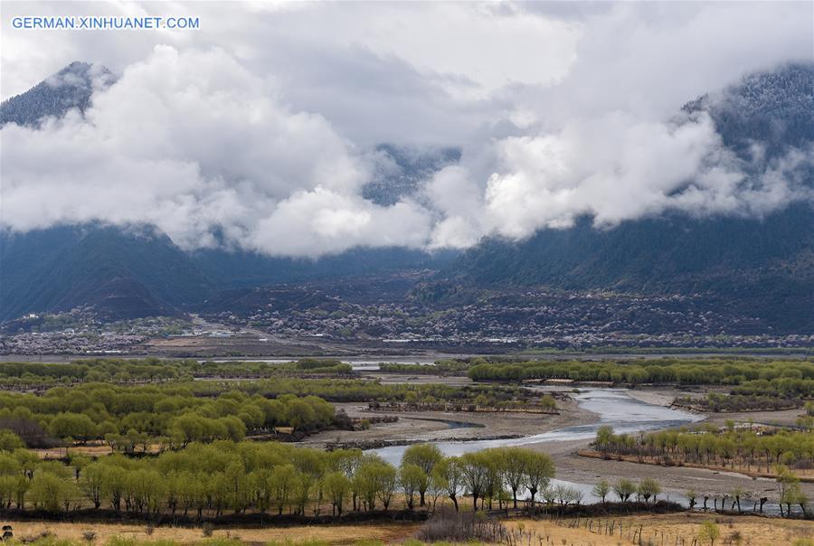 CHINA-TIBET-WETLAND PARK-SCENERY (CN)