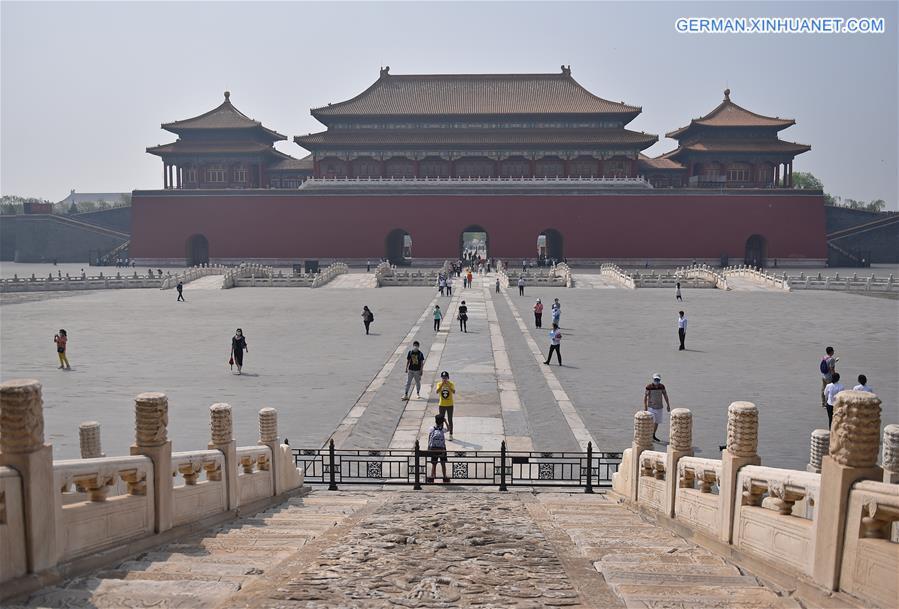 CHINA-BEIJING-PALACE MUSEUM-REOPENING (CN)