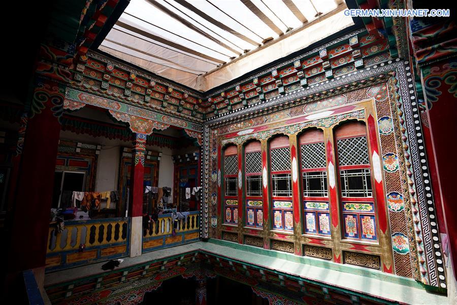 CHINA-TIBET-ZONGANG-RESIDENCES-ART (CN)