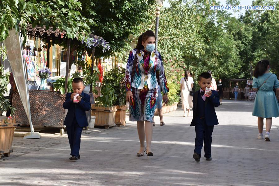 CHINA-XINJIANG-KASHGAR-ANCIENT CITY (CN)