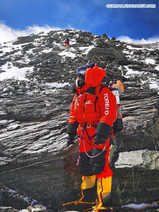 CHINA-TIBET-MOUNT QOMOLANGMA-REMEASUREMENT (CN)