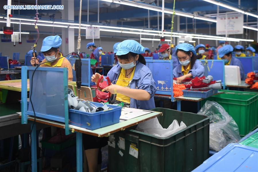 CHINA-HUNAN-TOY FACTORY-POVERTY RELIEF (CN)