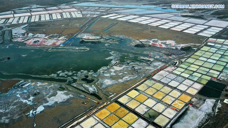CHINA-SHAANXI-DINGBIAN-SALT LAKE (CN)