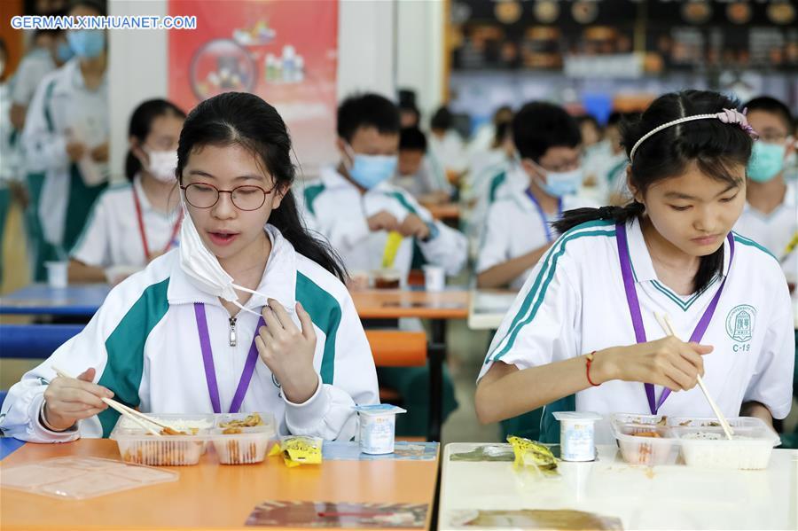 CHINA-BEIJING-SCHOOLS-STUDENTS-RETURN (CN)