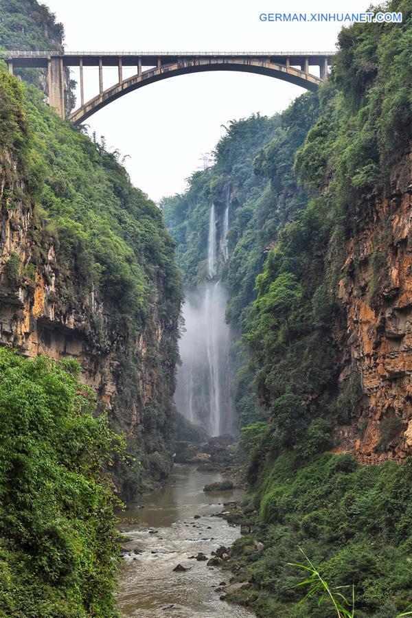 CHINA-GUIZHOU-MALINGHE CANYON (CN)