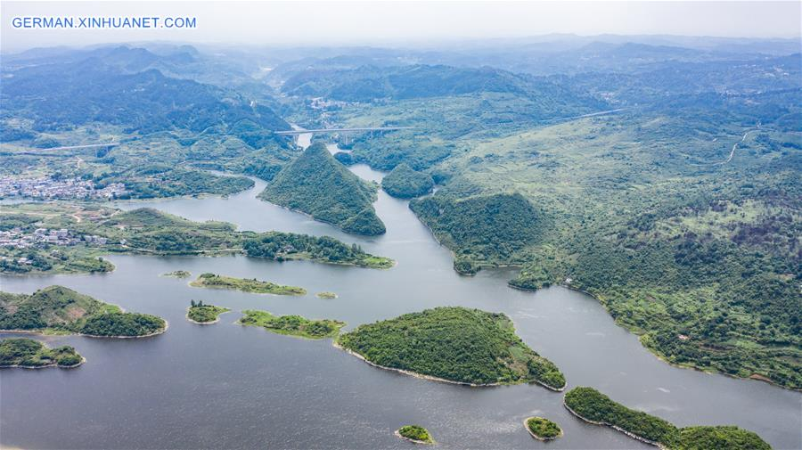 CHINA-GUIZHOU-AHA LAKE-SCENERY (CN)