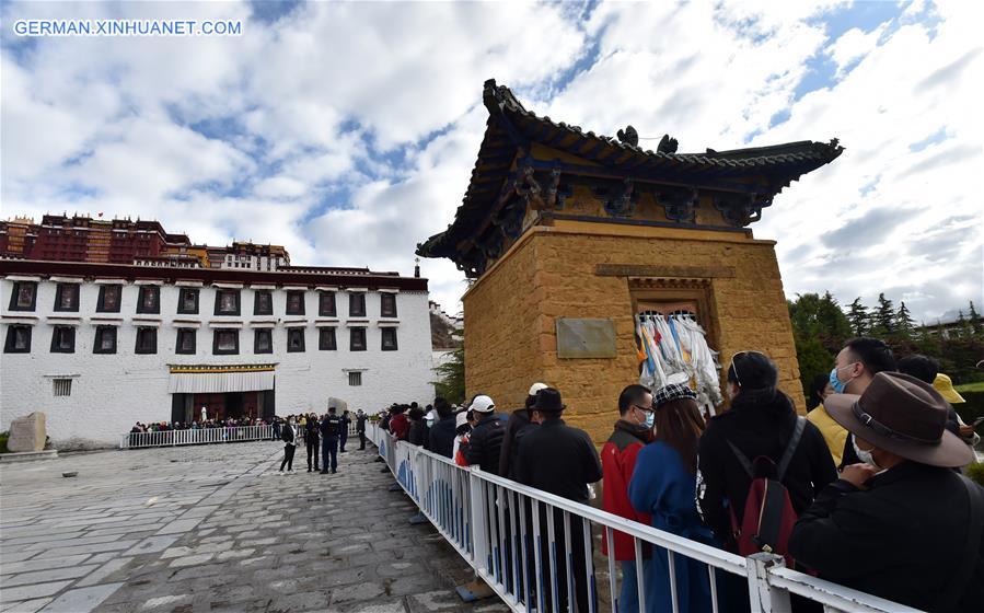 CHINA-TIBET-LHASA-POTALA PALACE-REOPEN (CN)