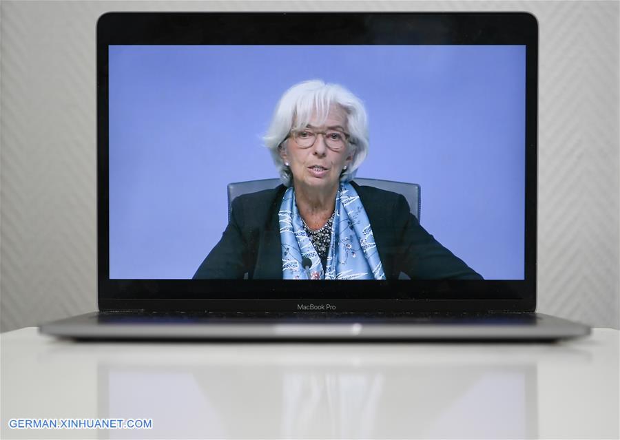 GERMANY-FRANKFURT-ECB-PRESS CONFERENCE