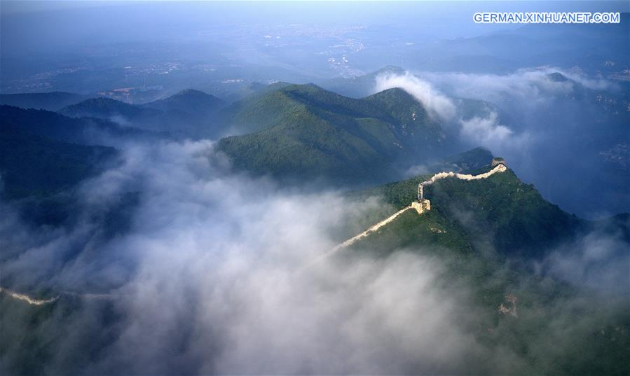 CHINA-HEBEI-TANGSHAN-THE GREAT WALL-SCENERY(CN)