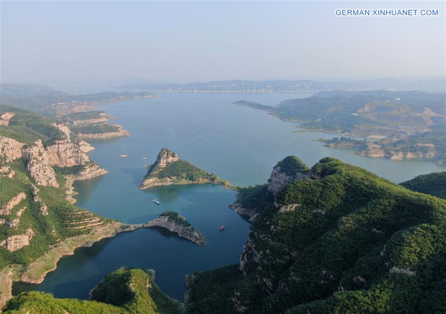 CHINA-HENAN-XIAOLANGDI RESERVOIR-VIEW (CN)
