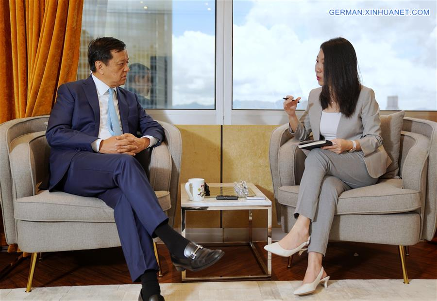 CHINA-HONG KONG-HKEX CHIEF EXECUTIVE-INTERVIEW (CN)