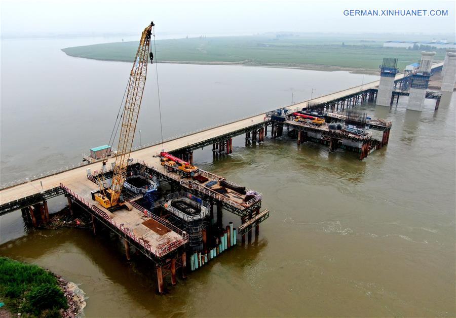 CHINA-HENAN-MENGZHOU-BRIDGE-CONSTRUCTION (CN)
