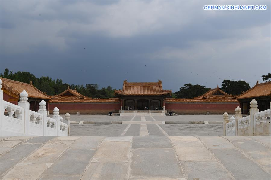 CHINA-HEBEI-QING DYNASTY-WESTERN ROYAL TOMBS (CN)