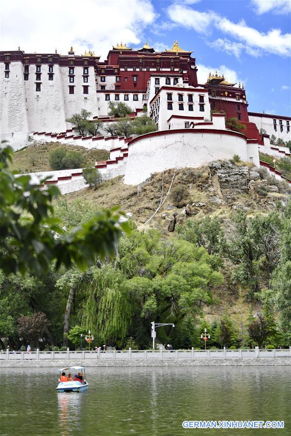 CHINA-TIBET-LHASA-PARK-LEISURE (CN)