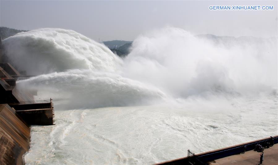 #CHINA-HENAN-XIAOLANGDI RESERVOIR-WATER DISCHARGE (CN)