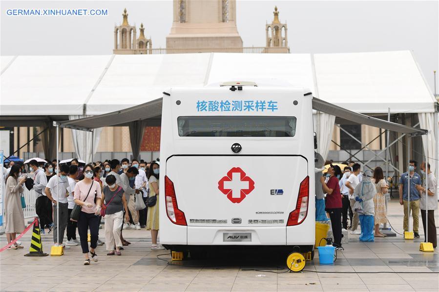CHINA-BEIJING-COVID-19-MOBILE TESTING VEHICLE (CN)
