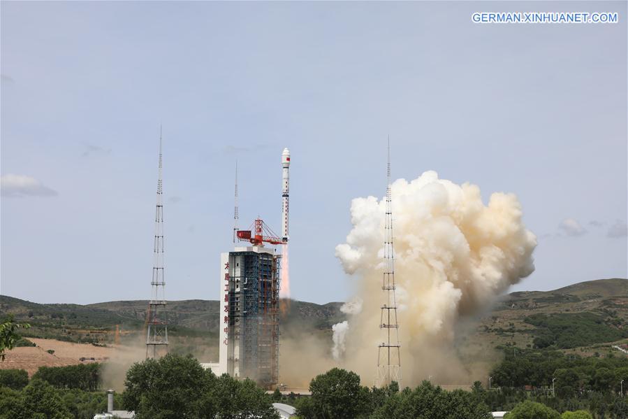 CHINA-SHANXI-HIGH-RESOLUTION MULTI-MODE IMAGING SATELLITE-LAUNCH (CN)