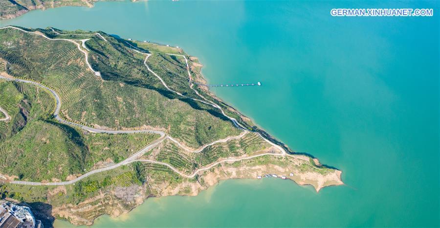 CHINA-GUIZHOU-ZANGKE RIVER (CN)
