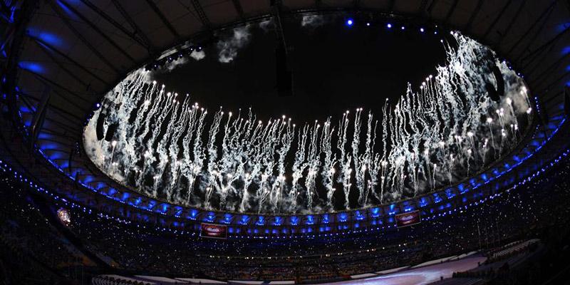 Abschlusszeremonie der Olympischen Spiele Rio 2016