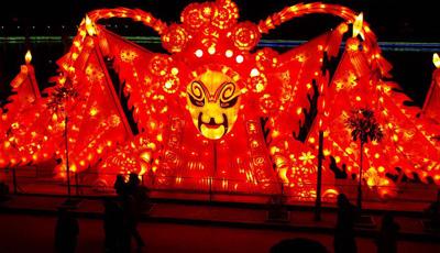 Laternen-Fest in Henan