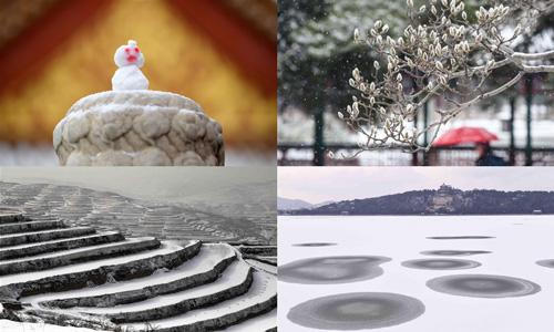Schneeweiße Welt
