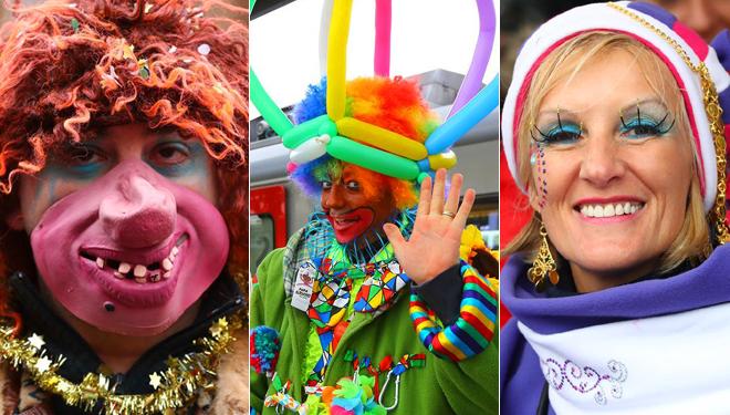 Aalst Karneval in Belgien