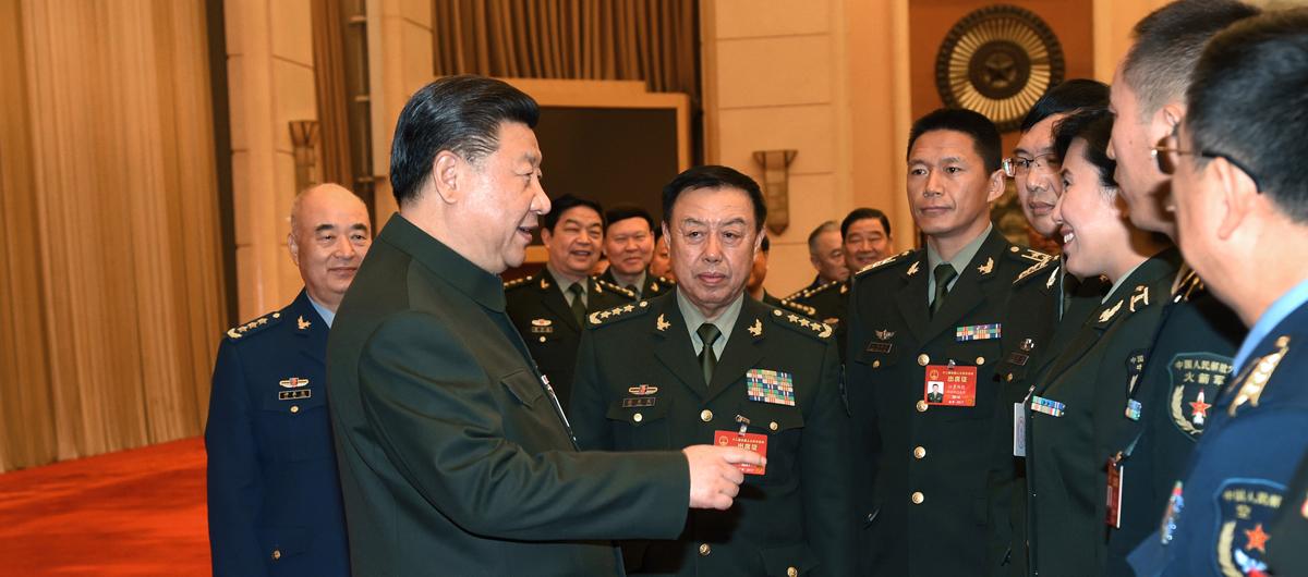 Xi nimmt an Podiumsdiskussion mit Delegierten des 12. NVK von der VBA teil