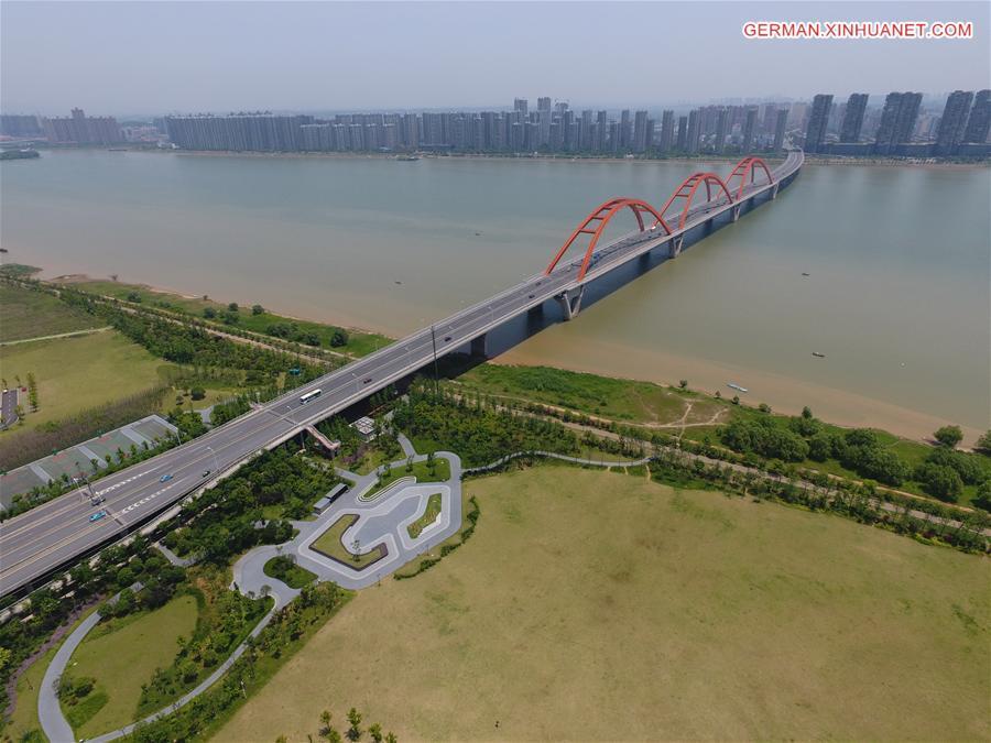 Rasante Entwicklung in sechs zentralchinesischen Provinzen