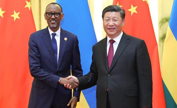 Xi Jinping trifft ruandischen Präsidenten in Beijing