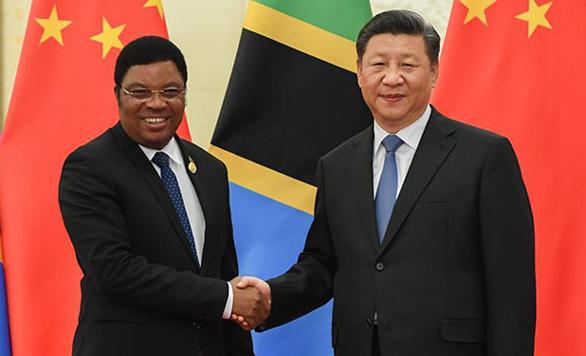 Xi Jinping trifft tansanischen Ministerpräsidenten in Beijing