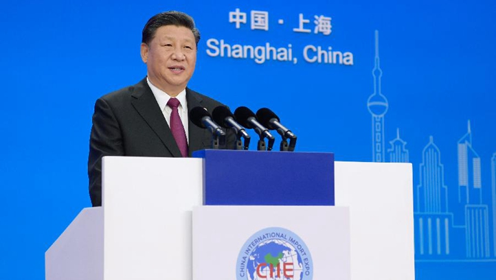 CIIE is not China's solo show, but chorus of world: President Xi Jinping